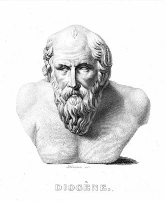 Diogenes Photograph - Diogenes (d. C320 B.c.) by Granger