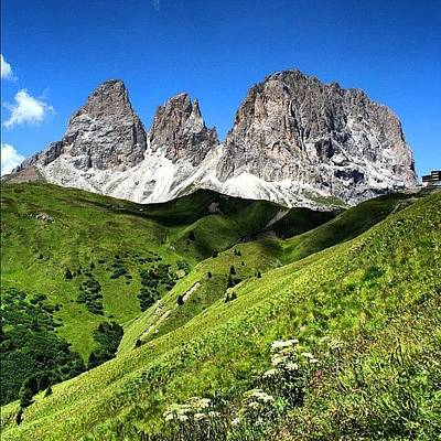 Landscapes Wall Art - Photograph - Dolomites by Luisa Azzolini