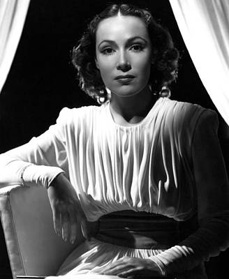 Dolores Photograph - Dolores Del Rio, Ca. 1930s by Everett