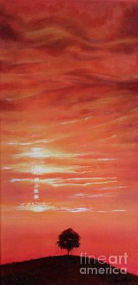 Dusk Day Dawn Series Art Print by Seth Corda