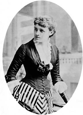 1880s Portaits Photograph - Edith Wharton, 1862-1937, American by Everett