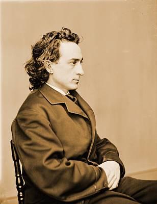 Edwin Booth 1833-1893, American Actor Art Print by Everett