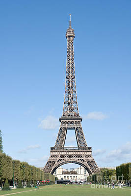 Photograph - Eiffel Tower by Fabrizio Ruggeri