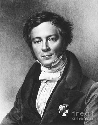 1833 Photograph - Eilhard Mitscherlich, German Chemist by Science Source