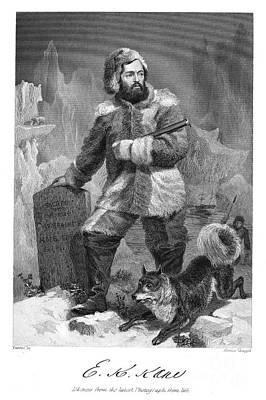 Elisha Kent Kane (1820-1857) Art Print