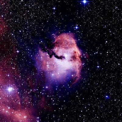 Ic 2177 Photograph - Emission Nebula by Celestial Image Co.