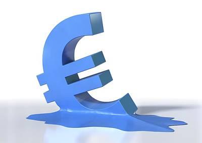 Euro Crisis, Conceptual Artwork Print by David Mack