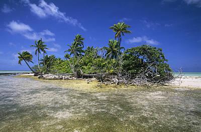 Fakarava Atoll Art Print