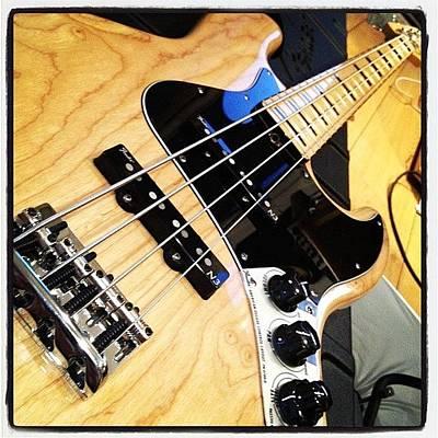 Instrument Photograph - #fenderjazz #bass by Stu Brierley