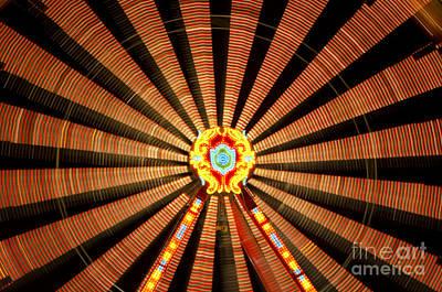 Roller Coaster Photograph - Ferris Wheel by Mats Silvan