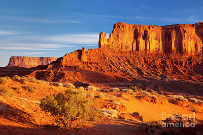 Photograph - First Light Over Sentinel Mesa by Brian Jannsen