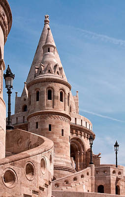 Photograph - Fisherman's Bastion by Shirley Mitchell