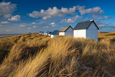 Www.landscape.lu Photograph - Fishermen Cabins At Sunset by Maciej Markiewicz