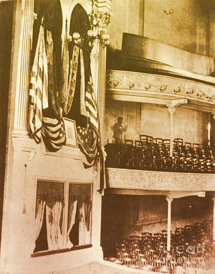 Fords Theater, Lincoln Assassination Art Print by Photo Researchers