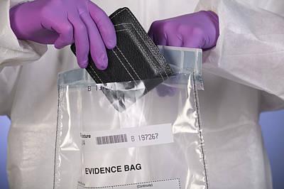 Forensic Evidence Art Print by Paul Rapson