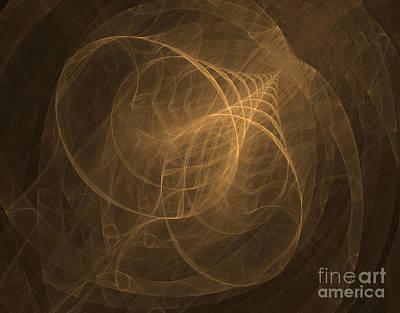 Fractal Image Art Print by Ted Kinsman
