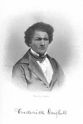 Frederick Douglass Photograph - Frederick Douglass by Granger
