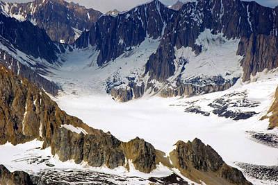 Photograph - Galcier - Kenai Peninsula by Harvey Barrison