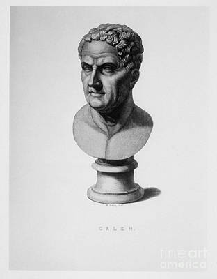 Galen, Greek Physician And Philosopher Art Print