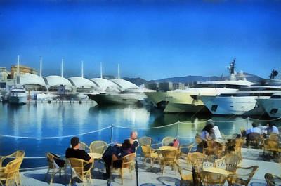 Painting - Genova Salone Nautico Internazionale - Genoa Boat Show by Enrico Pelos