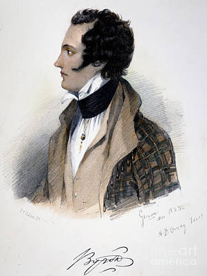 George Gordon Byron Art Print by Granger