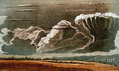 Photograph - German Cloud Atlas, 1819 by Science Source