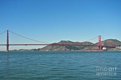 Photograph - Golden Gate Bridge by Carol  Bradley