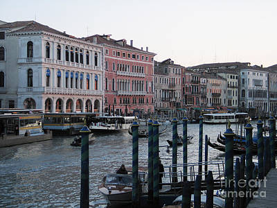 Grand Canal. Venice Art Print by Bernard Jaubert