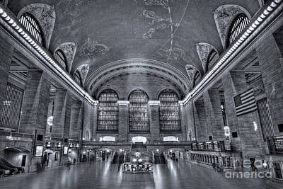 Grand Central Station Art Print by Susan Candelario
