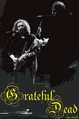 Photograph - Grateful Dead  by Susan Carella