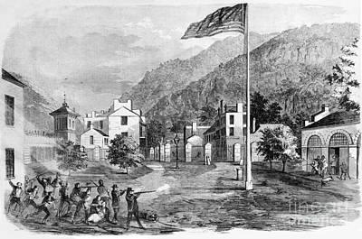 Harpers Ferry Insurrection, 1859 Art Print