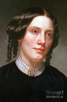 Harriet Beecher Stowe, American Art Print
