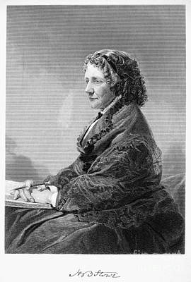Harriet Beecher Stowe Art Print by Granger
