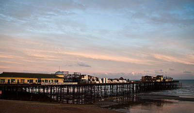 Beaches Photograph - Hastings Pier After The Fire by Dawn OConnor