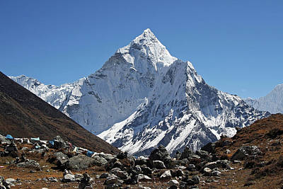 Nepal Scenes Photograph - Himalayan Mountain Landscape by Pal Teravagimov Photography