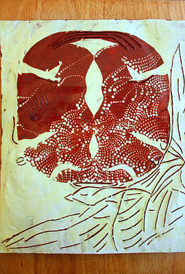 Ceramic Art - Holy Trinity  by Gloria Ssali