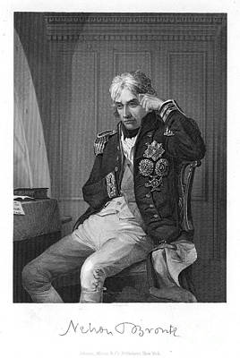 Lord Admiral Nelson Photograph - Horatio Nelson (1758-1805) by Granger