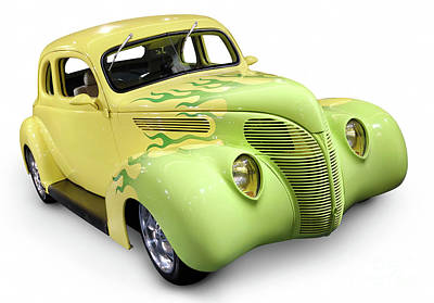 Hot Rod Photograph - Hot Rod Ford Coupe 1938 by Oleksiy Maksymenko