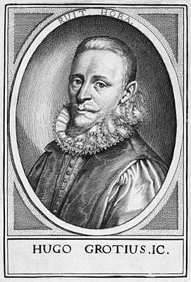 Just Right Photograph - Hugo Grotius, Dutch Jurist by Middle Temple Library