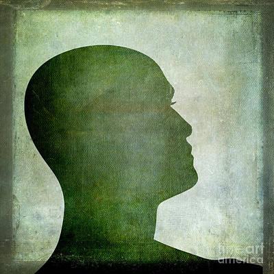 Human Representation Art Print by Bernard Jaubert