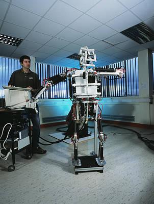 Humanoid Robot Art Print
