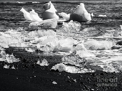 Photograph - Ice Beach by Michael Canning