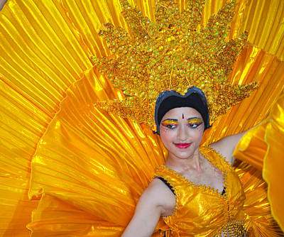 Photograph - Indian Dancer by Chua  ChinLeng