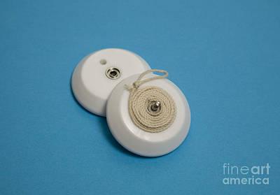 Inside A Yo-yo Print by Ted Kinsman
