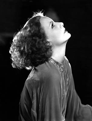 Clarence Sinclair Bull Photograph - Inspiration, Greta Garbo, Portrait by Everett