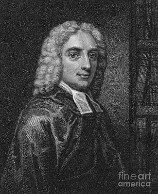 Isaac Watts (1674-1748) Art Print by Granger