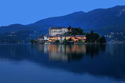 Boat House Photograph - Island Of San Giulio On Lake Orta by Joana Kruse