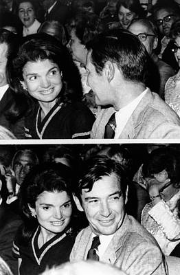 Jacqueline Kennedy Onassis Art Print by Everett