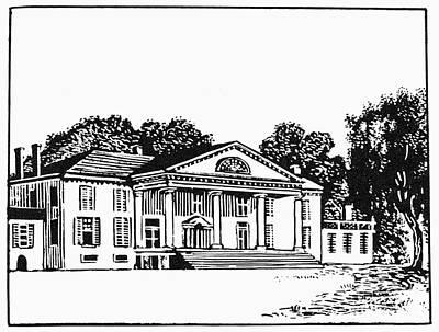 James Madison: Montpelier Print by Granger