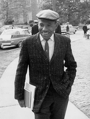 James Meredith, First African American Art Print